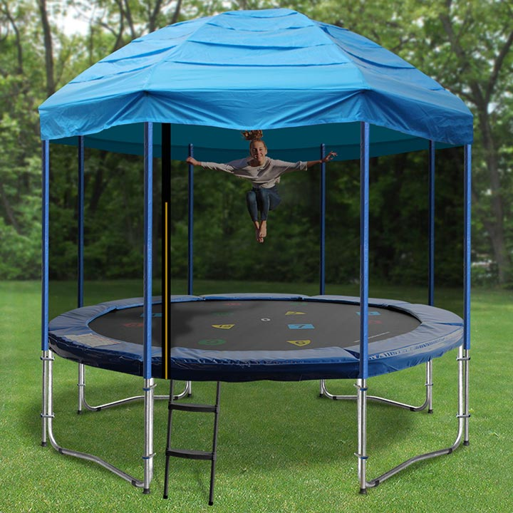 Trampoline Circus Tents -- 10 FT Trampoline Tent