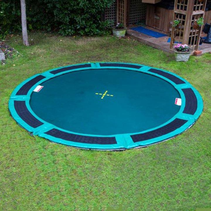 10ft Inground Trampoline Safety Pad Round Oz Trampolines
