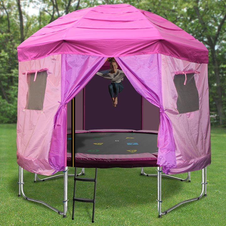 TRAMPOLINE TENTS & 10ft Princess Trampoline Tent