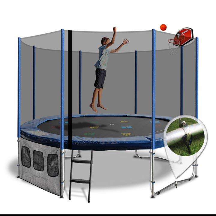 Trampoline 10ft With Slam Dunk Kit