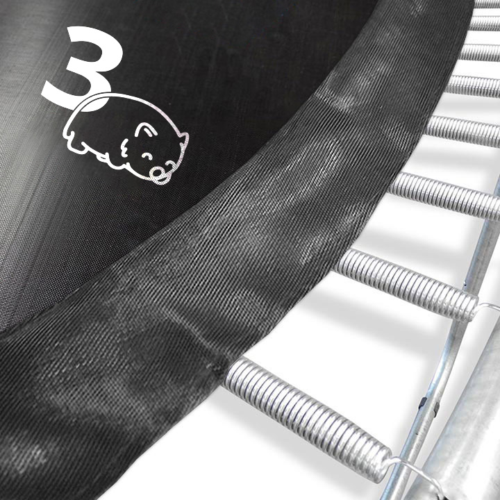 12 Foot Trampoline By Jumpsport: Above Ground With Enclosure By Oz