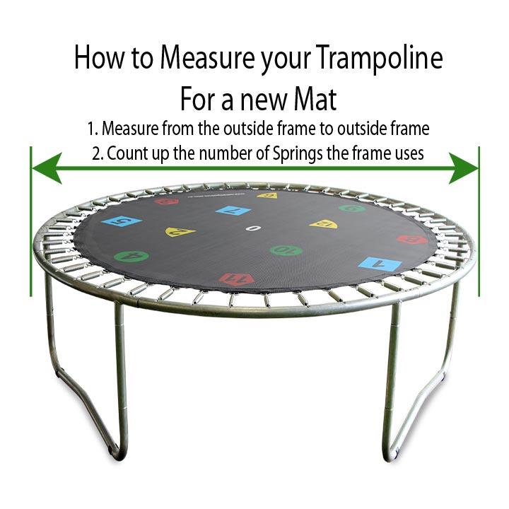 12ft Trampoline Mat 72 Springs Oz Trampolines
