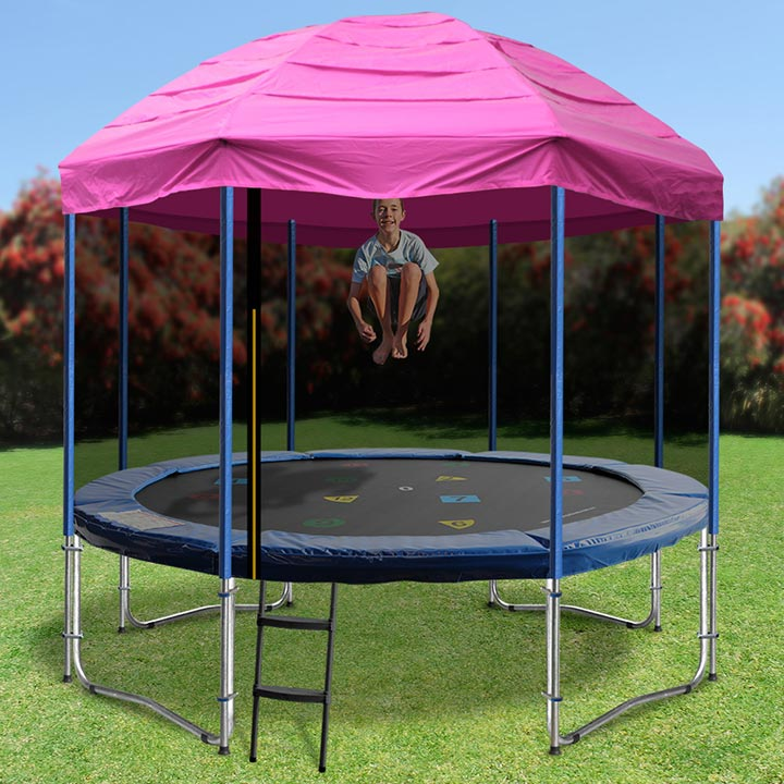 12 Foot Trampoline By Jumpsport: 12ft Trampoline With Tent