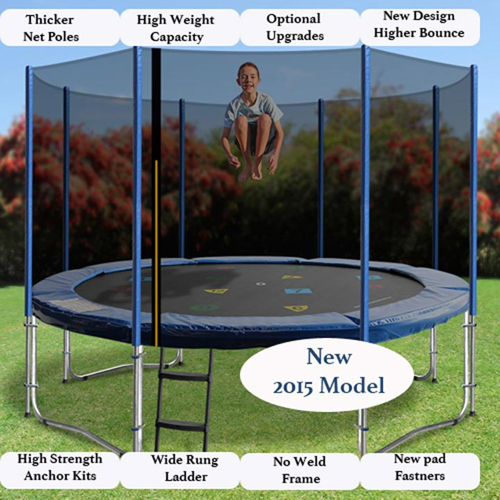 12FT TRAMPOLINE WITH PRINCESS TENT & 12ft Trampoline with tent