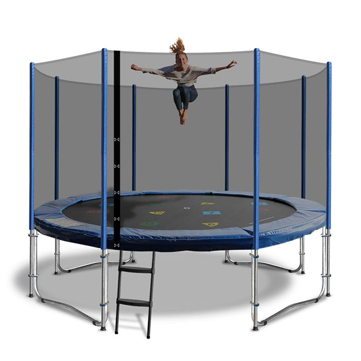 14 Ft Trampoline Safety Pad Epe Foam: 14ft Trampoline Net And Pole Padding