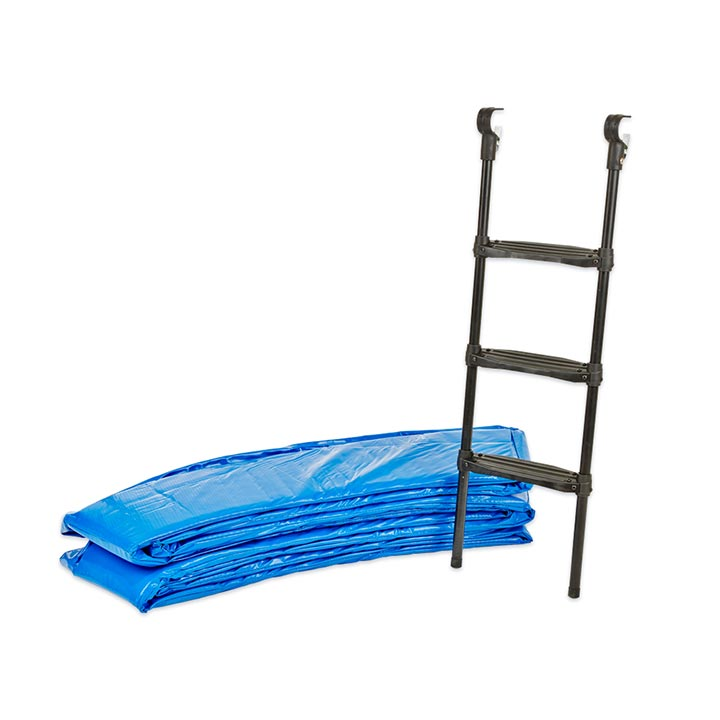 14ft Trampoline Pads And Ladder Package