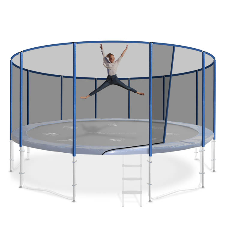 15ft Round Trampoline Safety Nets- Oz Trampolines Buy Now