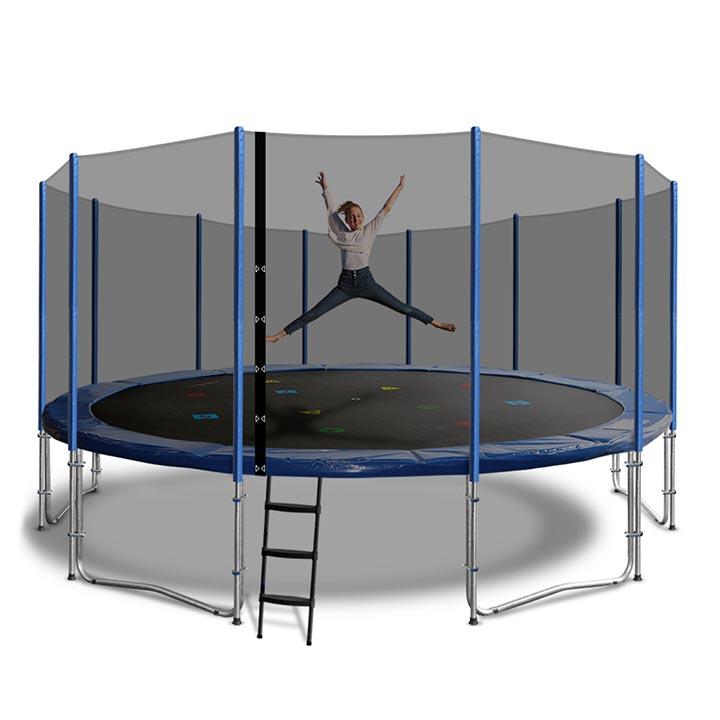 jumpking trampoline net instructions