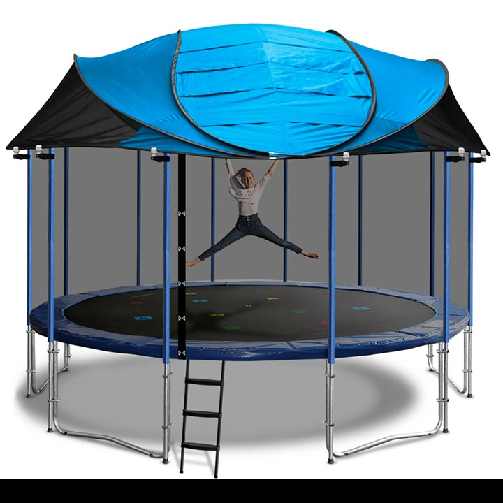 15ft Trampoline Roof