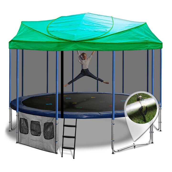 16ft Trampoline Roof