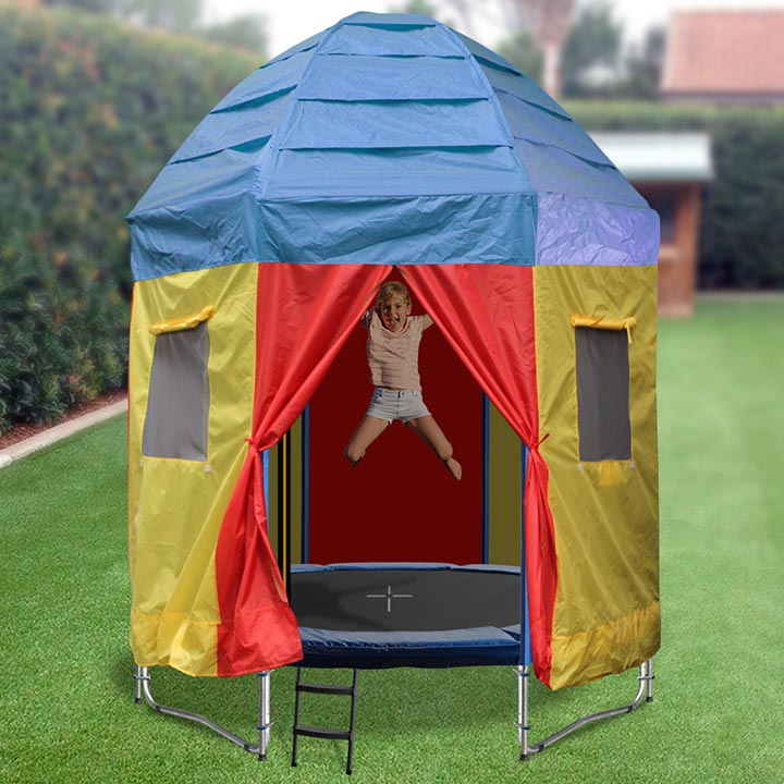 6FT TRAMPOLINE CIRCUS TENT & 6ft Circus Trampoline Tent