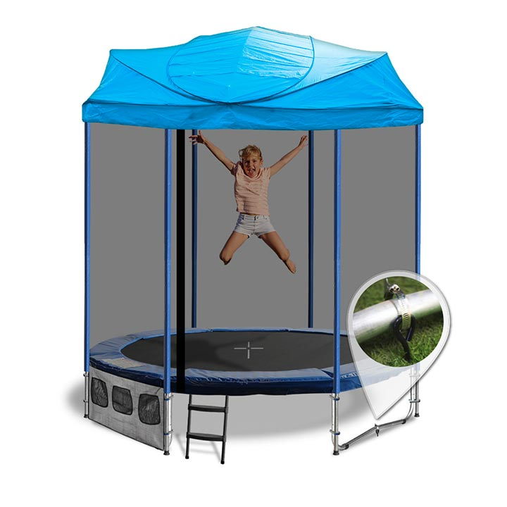 6ft Trampoline With Tent