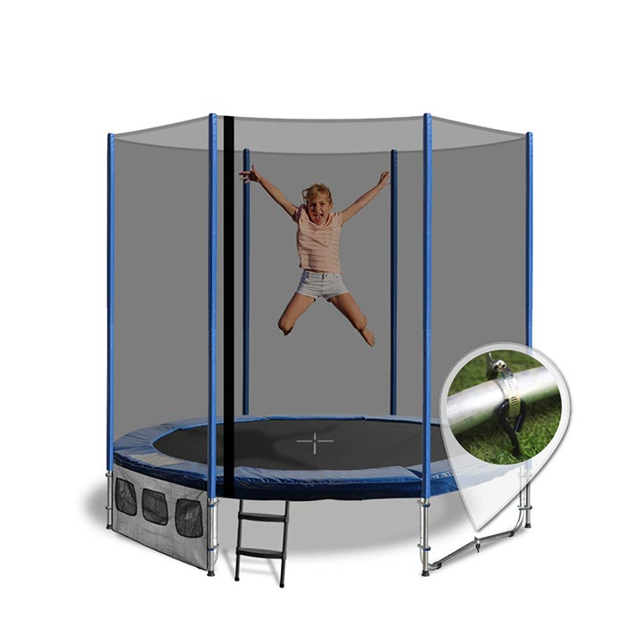 Trampoline Circus Tent & Image Is Loading 13ft-x-9ft