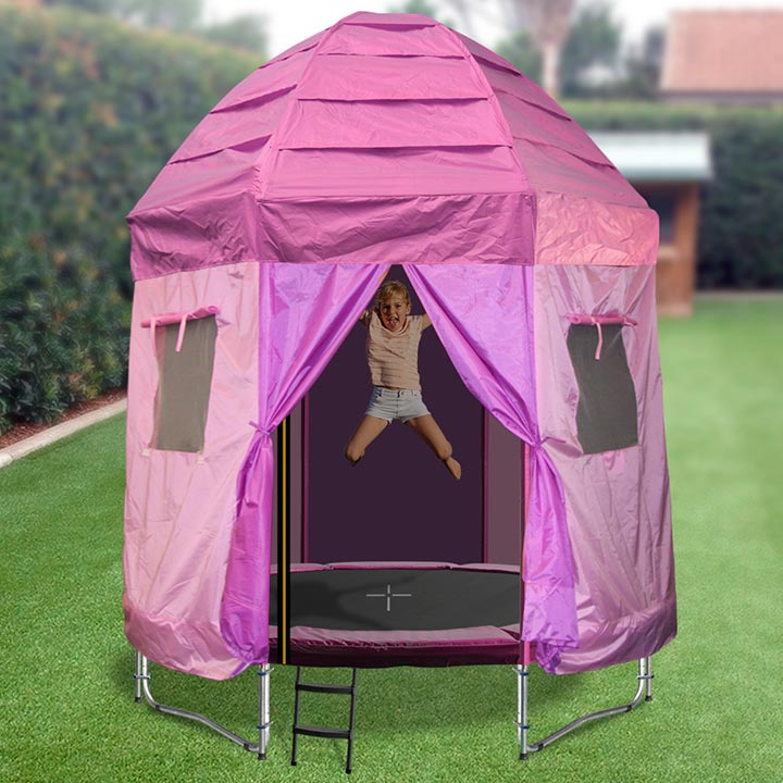 ... 6ft princess tr&oline tent ... & Trampoline Cover Tent - Trampoline For Your Health