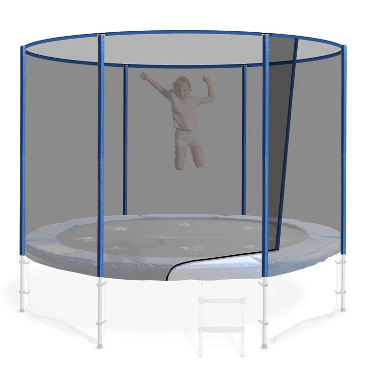8ft Round Trampoline Safety Net
