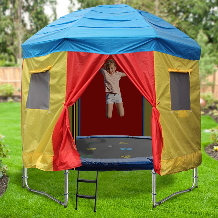 TRAMPOLINE TENTS & 8ft Trampoline Tent - Circus Design - A tent for your trampoline