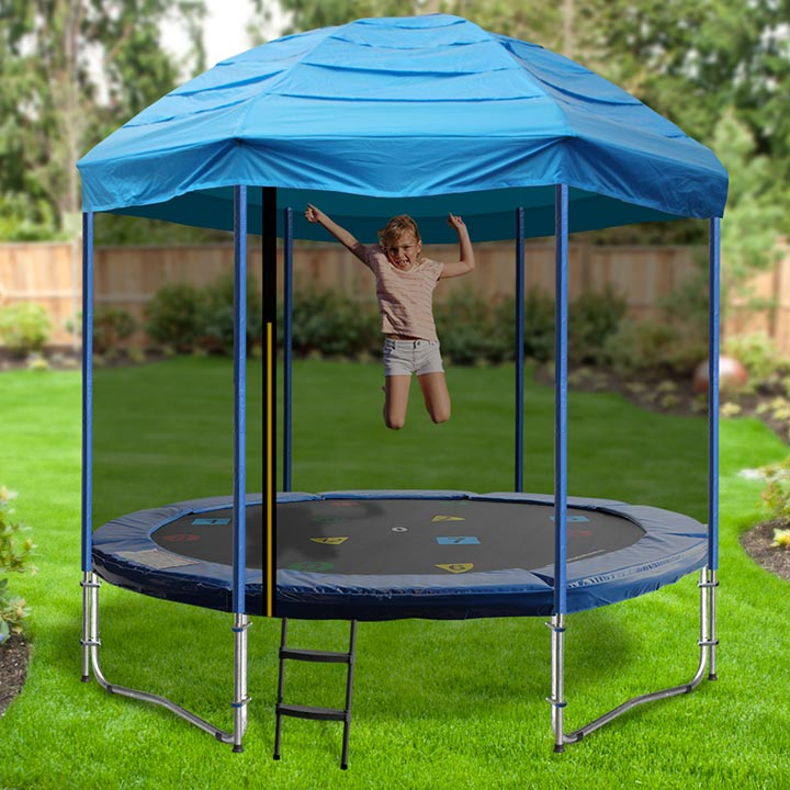 8FT TRAMPOLINE CIRCUS TENT & 8ft Trampoline Tent - Circus Design - A tent for your trampoline