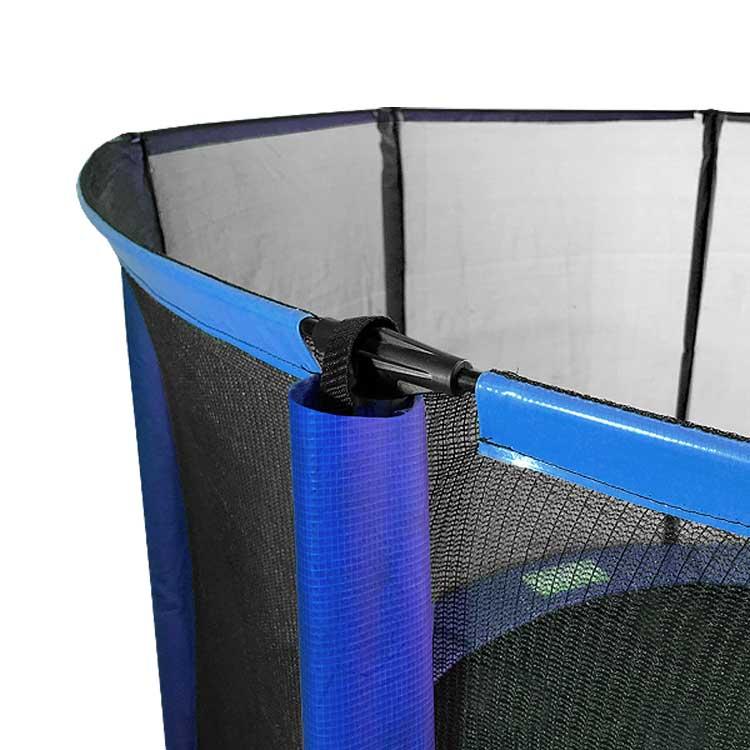 8ft Trampoline Safety Net & Poles Pack