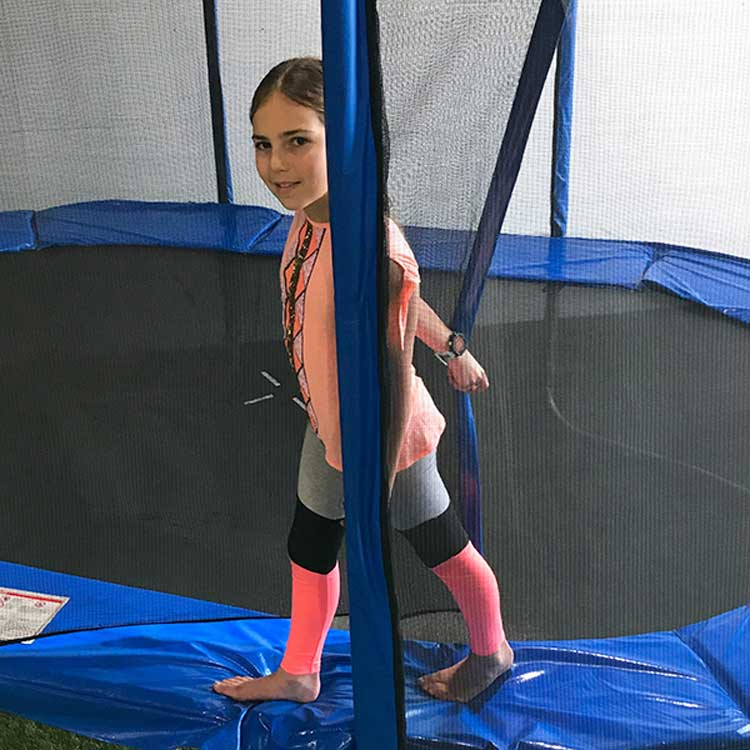 8ft Trampoline Safety Net & Poles Pack