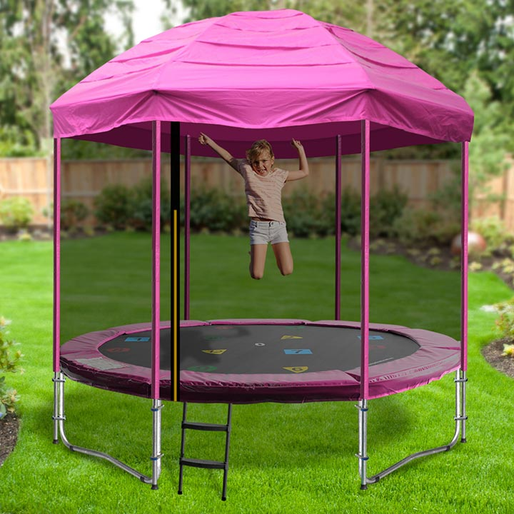 how to put together a trampoline from walmart
