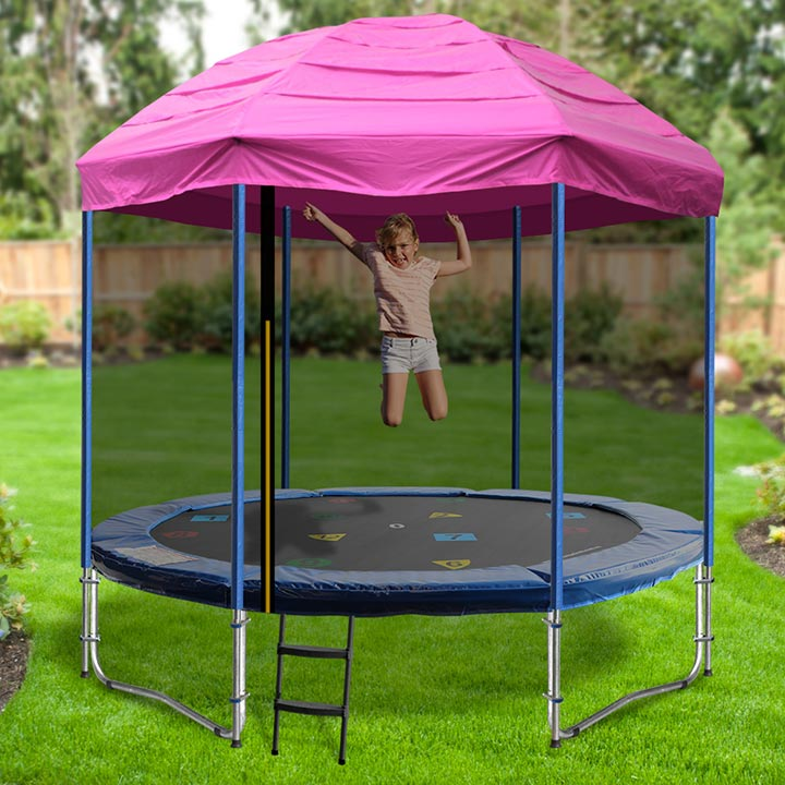 8ft Trampoline With Tent