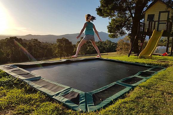 In Ground Trampoline Sizes Oz Trampolines