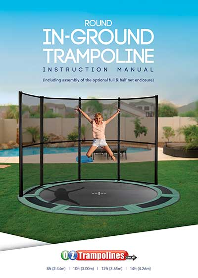 Round In-Ground Trampoline