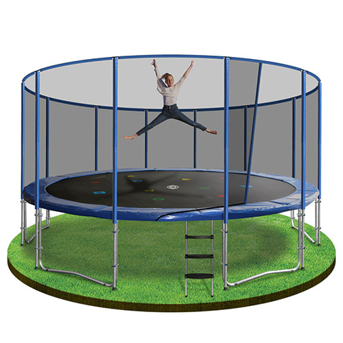 16ft trampoline with enclosure - trampoline 16ft
