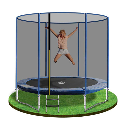 Trampoline 6ft - A 6ft trampoline with Enclosure