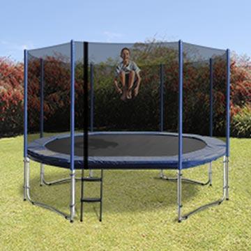 8x12 oval trampoline