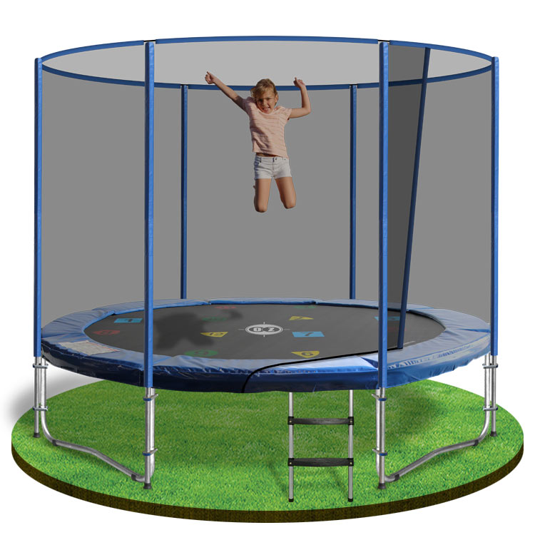 8ft trampoline with enclosure - trampoline 8ft