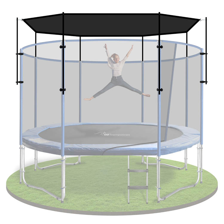 10x15ft Trampoline Shade Sail